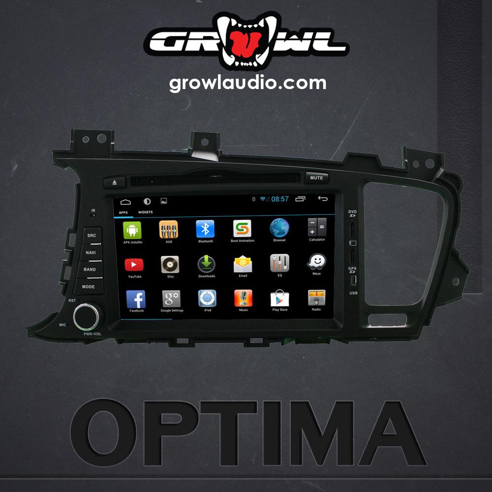 growl audio android oem head unit fit for kia optima k5. Black Bedroom Furniture Sets. Home Design Ideas