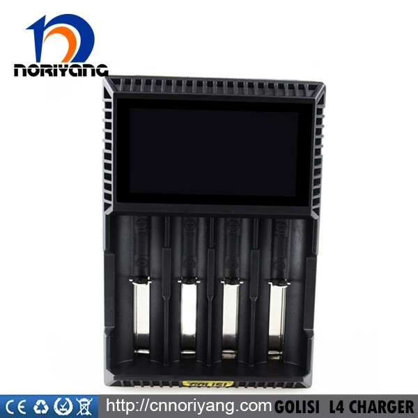 New design intelligent battery charger Golisi L4 Charger in stock wholesale