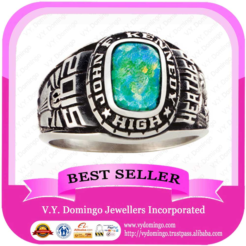 Opal ring high school antique name and patten ring
