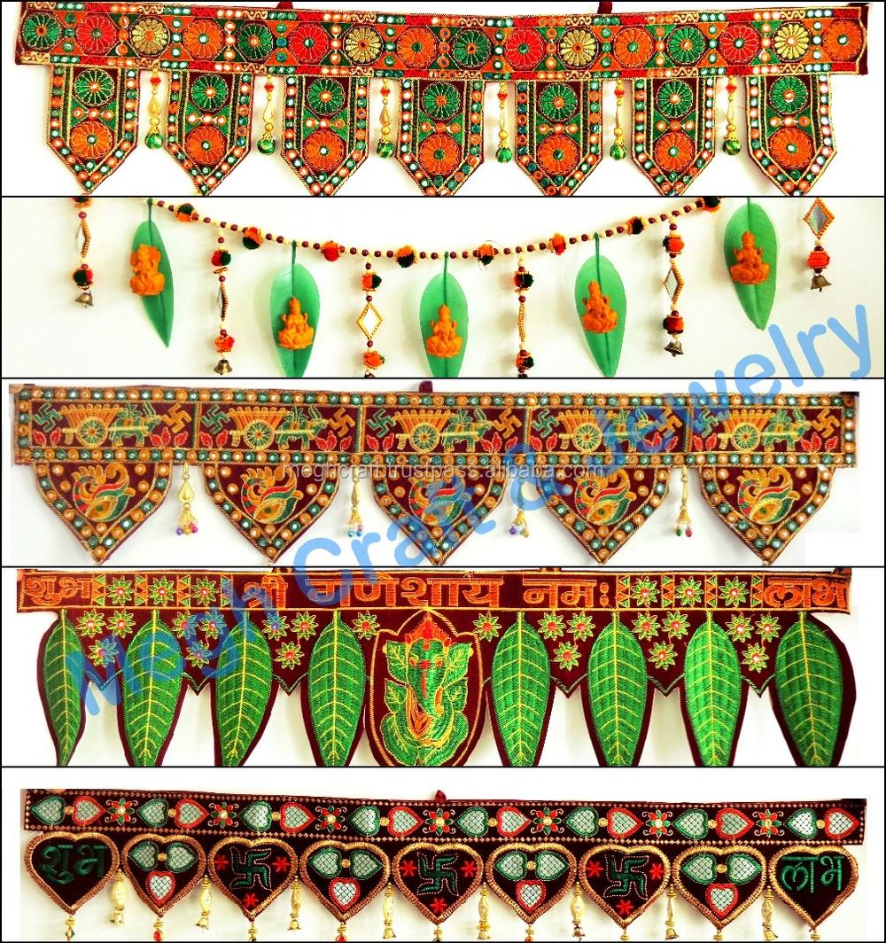 Indian Handmad Home Decor Animal Themed Door Hanging Wholesale Wedding Decor Door Hanging Indian