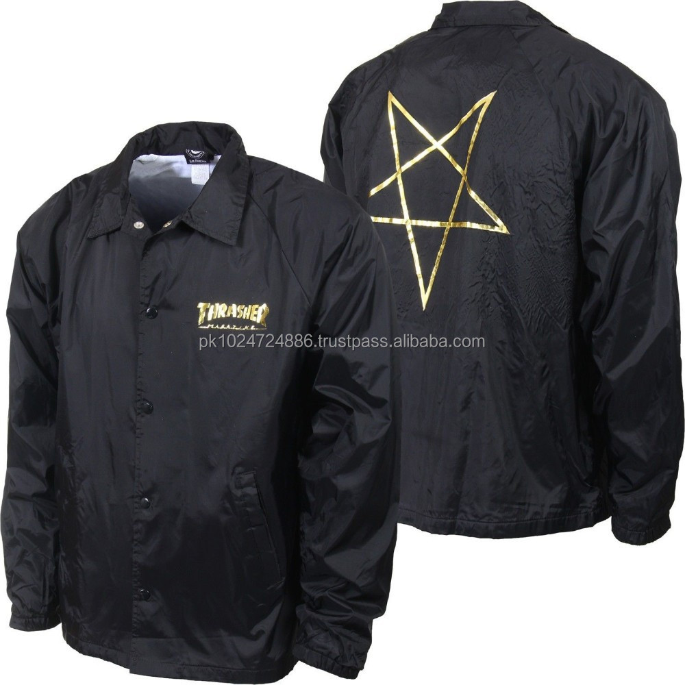 Custom Coach Jacket, Custom Coach Jacket Suppliers and ...