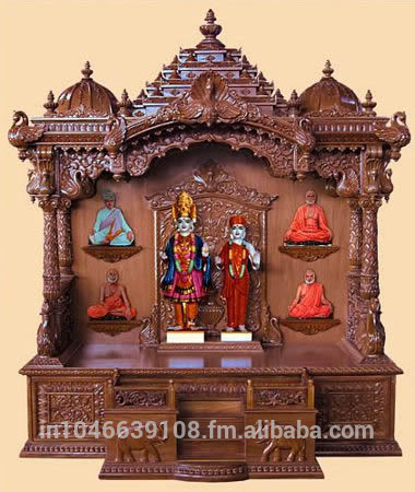 Bon Wooden Pooja Mandir Temple Design For Home   Buy Wooden Temple Design For  Home,Pooja Mandir For Sale,Wooden Pooja Mandir Product On Alibaba.com