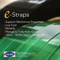 Pet Strapping 13mm 0.8mm - Wood,Construction Material,Glass,Metal ...