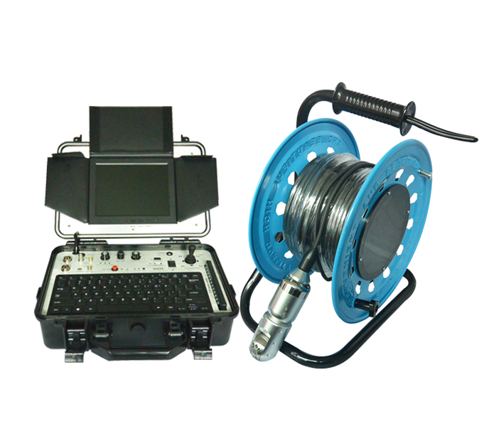 Submersible Motor Camera For Survey Borehole And Well V10