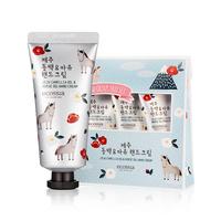 Ecossia Jeju Camellia Oil, Horse Oil hand Cream, Korea Cosmetics, Hand Moisturizer, No Talc, Mineral Oil, Paraben, Animal ingred