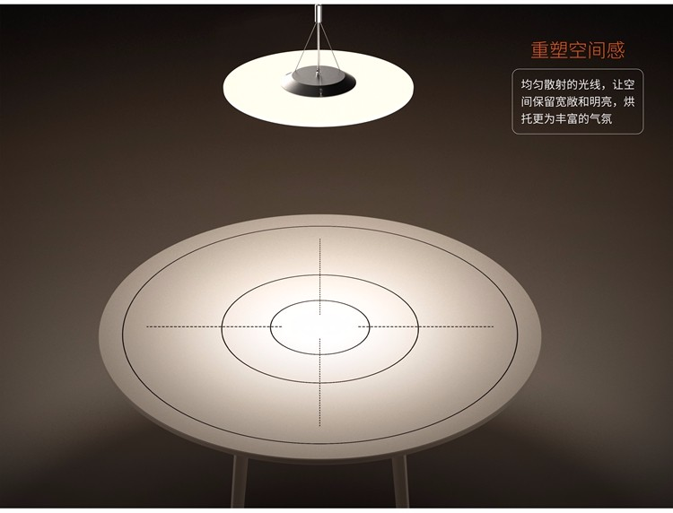 INLITY PDX45024 CE approved round led panel light clear LGP, frameless transparent