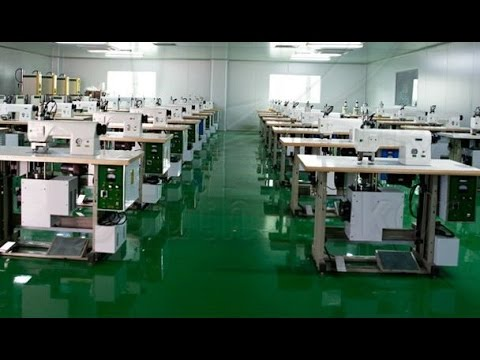 Ultrasonic lace sewing machine, non woven bag making machine, ultrasonic lace machine