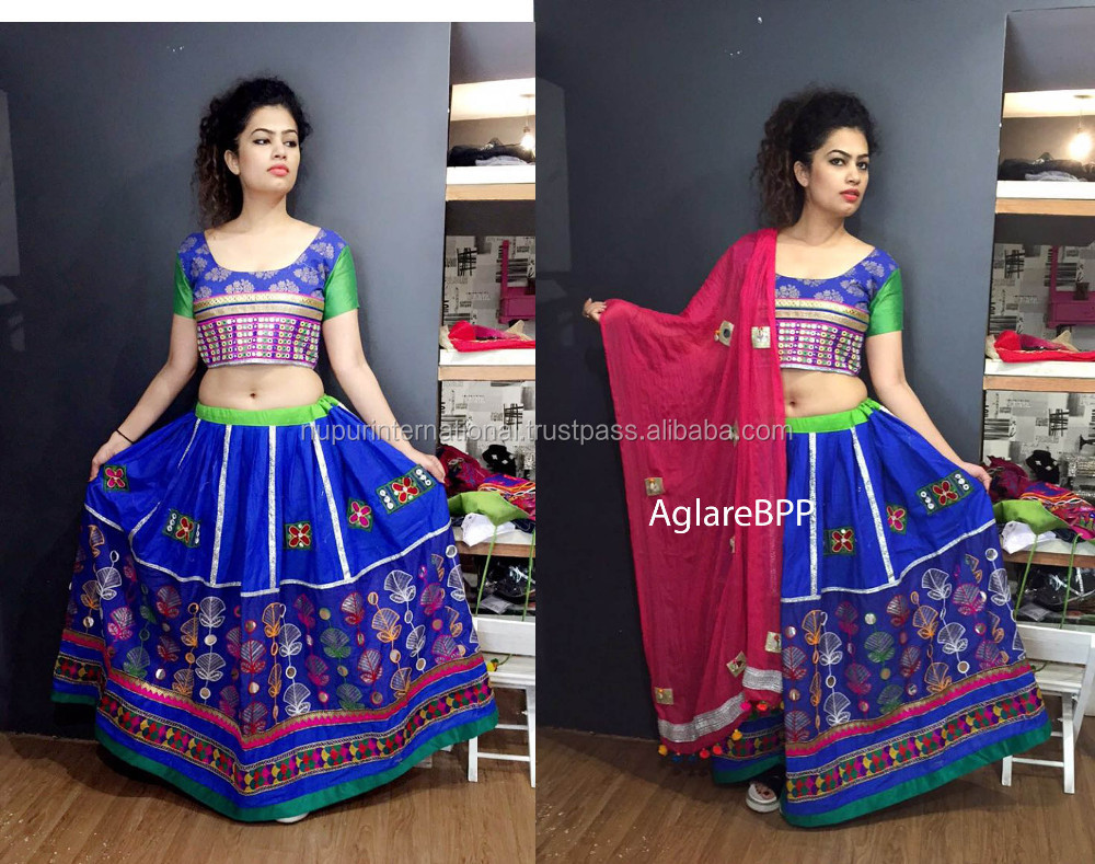 Wholesale Gypsy Rabari embroidered Chaniya choli