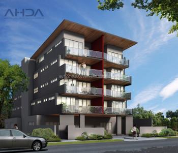 5 Storey Apartment Building Design - Architectural Plans For Sale ...