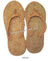 Vietnamese women jute flip-flops for inside home, coir flip flops/ fiber sandal