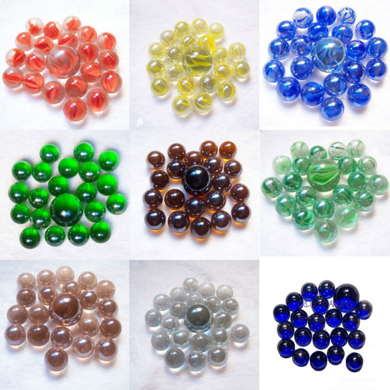 Clear Colored Marbles : Toy glass marbles size used for chinese checkers buy