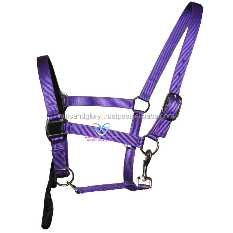 Nylon halter with Lead