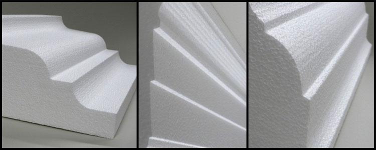 Foam Cornice With Polymer Cement Coating Buy Eps Foam