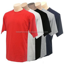 Soft smoth combed 100 % cotton single jersey t shirt