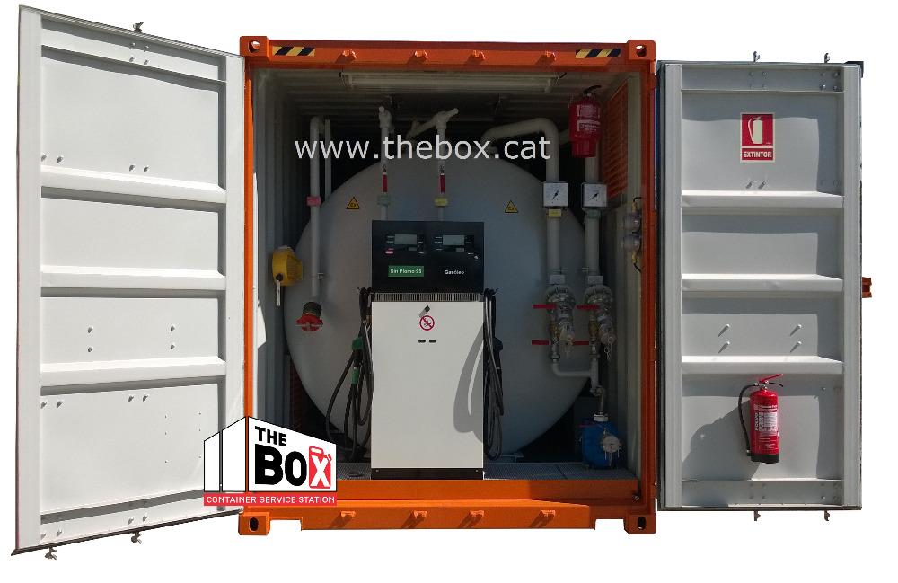container mobile tankstelle mobilen diesel tankstelle. Black Bedroom Furniture Sets. Home Design Ideas