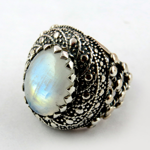 Delicate Big_925_Rainbow Moonstone Silver_Jewelry_Wholesale