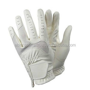 Horse Riding Gloves Ladies/ Leather Equestrian
