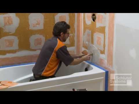 Schluter?-KERDI-BOARD over Framing in Bathtub Surround Applications
