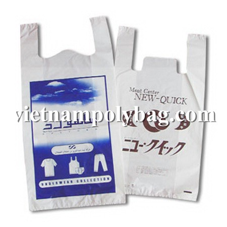 Vietnam plastic bag for Shopping produced by Vietnam supplier