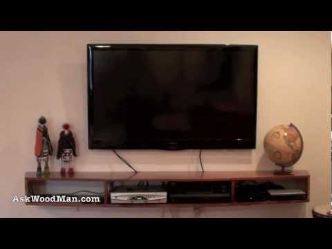 building an center for flat screen tv a furniture project