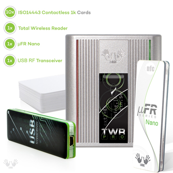 Nfc Reader Writer - Twr Pro Standard Set Nano - Rfid Contactless Card  Programmer + Sdk With Software Examples - Buy Nfc Reader,Rfid Reader,Nfc  Sdk