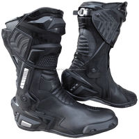 Motorbike Sports Racing Track Performance Genuine Leather Boots