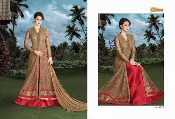 4eda2330be New Anarkali Salwar Kameez Indian Designer Ethnic Dress bridal Suit  Bollywood