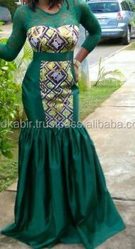 Prom Dresses of African Fabric