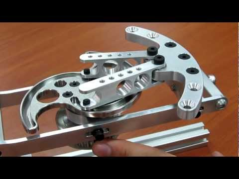 "CAM Mechanism for opening and closing the hand on ""reachMan"" robot"