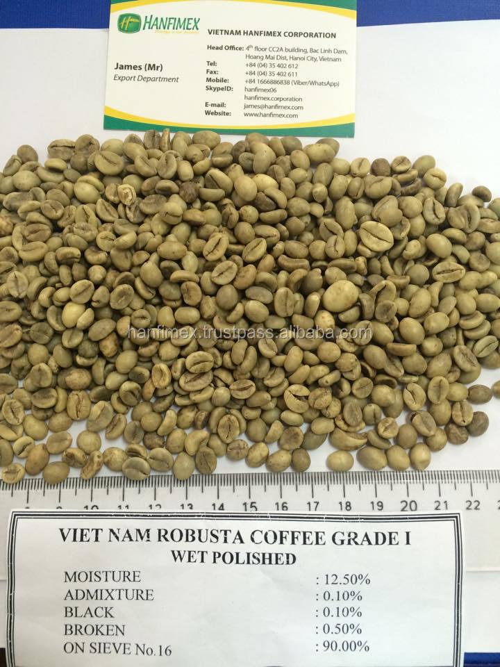 Supplier Arabica And Robusta Green Coffee Beans   Vietnam Best ...