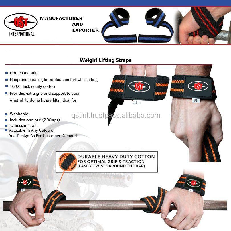 Palestra Cinghie di Sollevamento Per L'allenamento della Forza/Bodybuilding/Crossfit-Pesistica ...