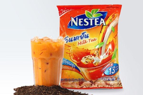 thai milk tea ile ilgili görsel sonucu