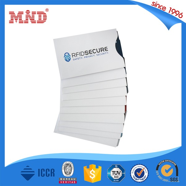 SABS09 RFID Blocking Credit Card Sleeve