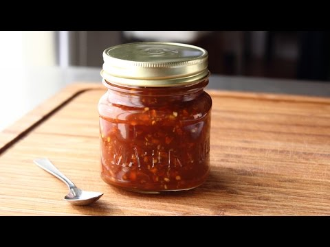 Thai-Style Sweet Chili Sauce Recipe - How to Make a Sweet & Spicy Chili Dipping Sauce