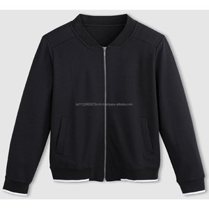 Mens Fleece Plus Metal Zipper Sweatshirt Casual Cotton Winter
