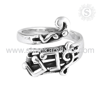 Plain Silver Jewelry Antique Fashion Ring Wholesaler Silver Jewelry 925 Sterling Silver Exporter