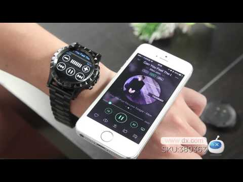"NO.1 SUN S2 1.22"" IPS Waterproof Bluetooth Smart Watch -- DX.COM"