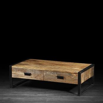 Industrial Mango Wood Coffee/tea Table