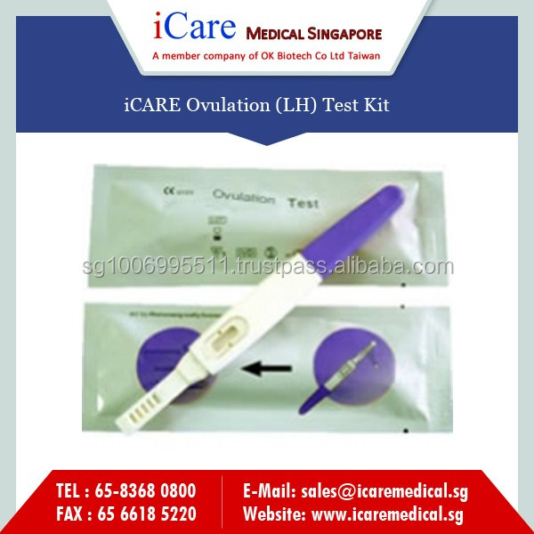 Advance Technologically Made One Step Ovulation Rapid Test Kit for Sale