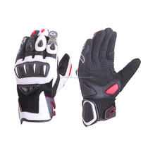 Motorcycle Racing Gloves - Motorbike Leather Gloves
