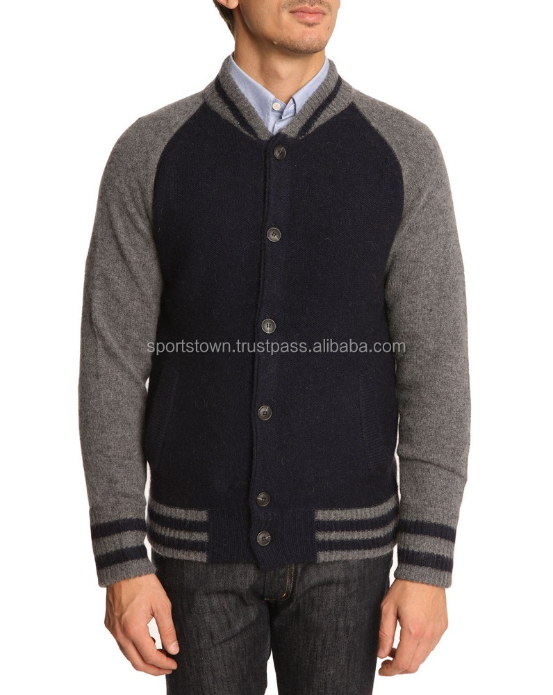 Cheap custom all wool varsity jacket wholesale blank baseball jackets