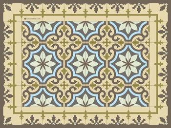pvc vinyl placemat 30x40 cm moroccan placemat for table decoration - Vinyl Placemats