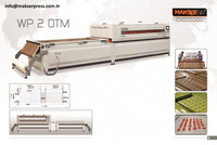 Makserpress WP2 OTM vacuum membrane press machine / PVC vacuum membrane press / Veneer Vacuum Membrane laminating Press machine