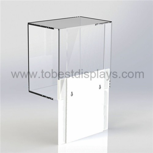 Acrylic Box To Hang On Wall : Smooth surface wall mount acrylic boxes mounted