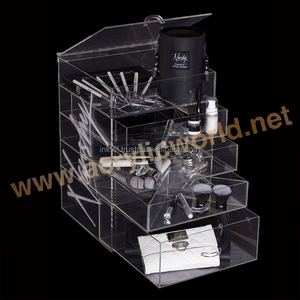 retail cosmetic display cases/cosmetic display table/cosmetic window display