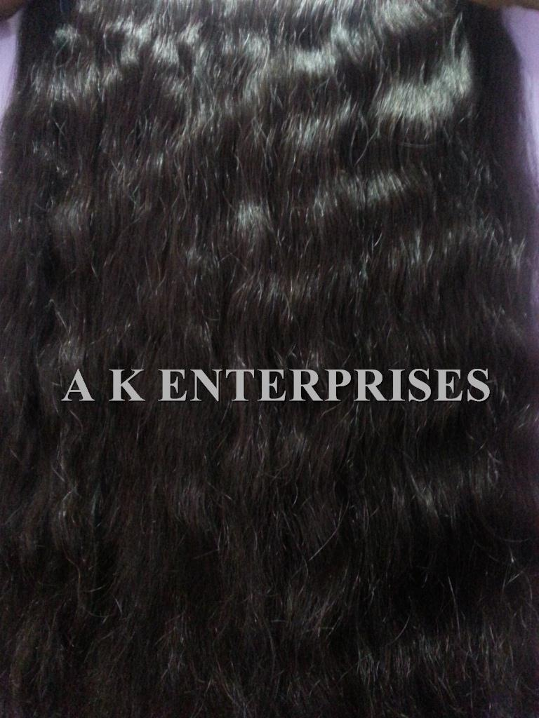Unprocessed wholesale virgin Brazilian hair/ virgin Indian hair