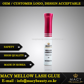 Macy Beauty Mellow Lash Glue Red Cap