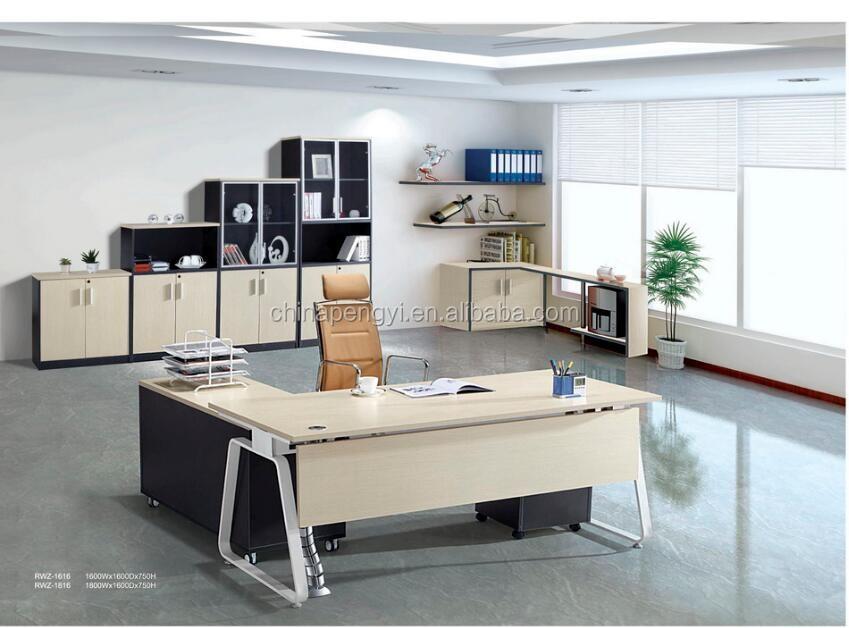 Mobilier de bureau moderne bureau modèles de table table de bureau