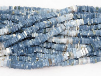 Blue Opal Shaded Style Heishi Shape Beads