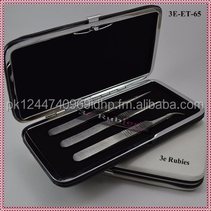 Rose Gold/ Vetus Stainless Steel Eyelash Extension Tweezers/ Anti Static Eyelash Extension Tweezers/ Professional